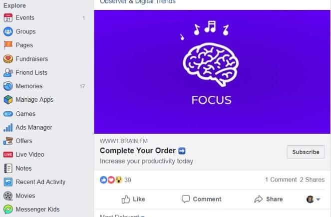 biểu tượng facebook khác
