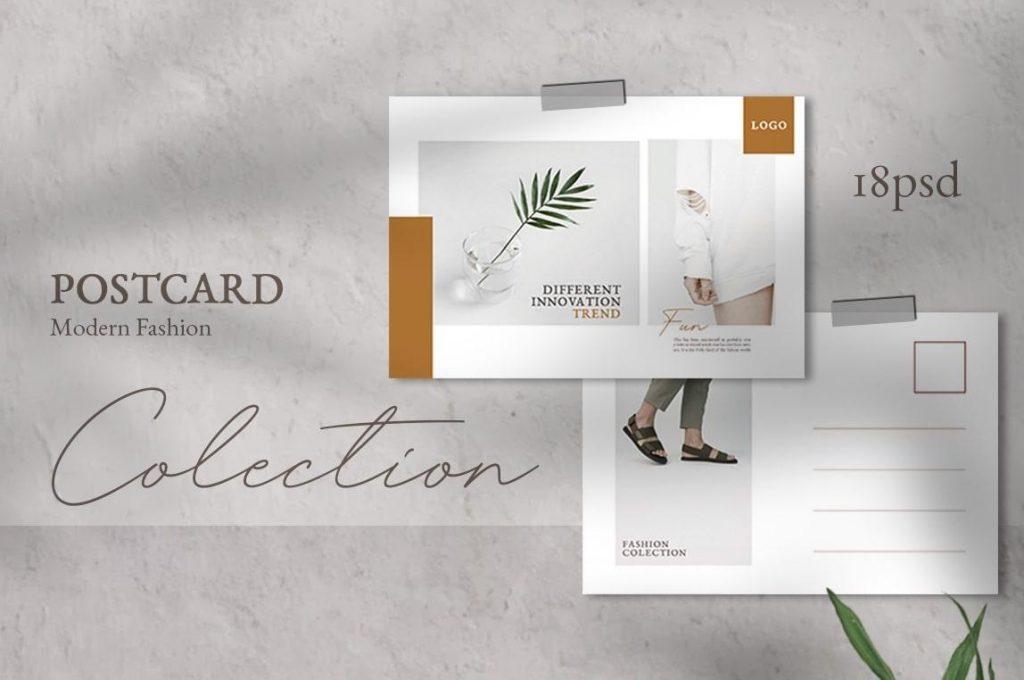 thiết kế postcard